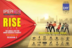 Poster Unveiled : Rise – Annual Fest @ IPERUG