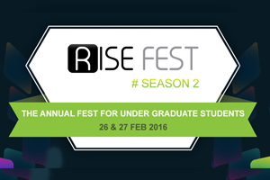 RISE – The Annual Management Fest of UG