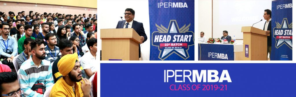 IPER MBA - Head Start Induction Day