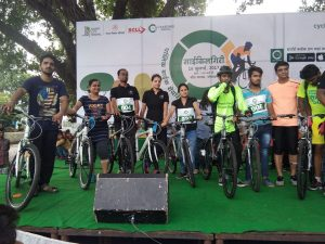 "Cyclothan Contest in Bhopal – ""CycleYaari Day"""