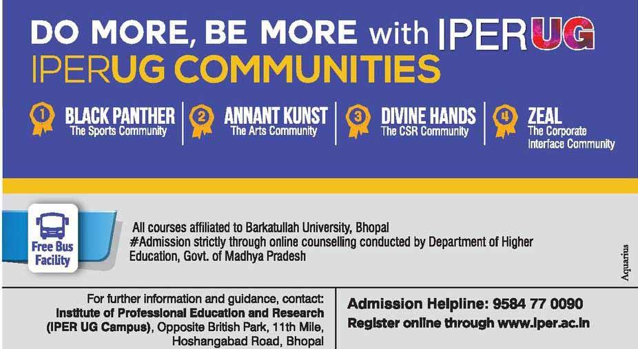 Bachelor of Commerce [BCom Honors] - IPER Bhopal