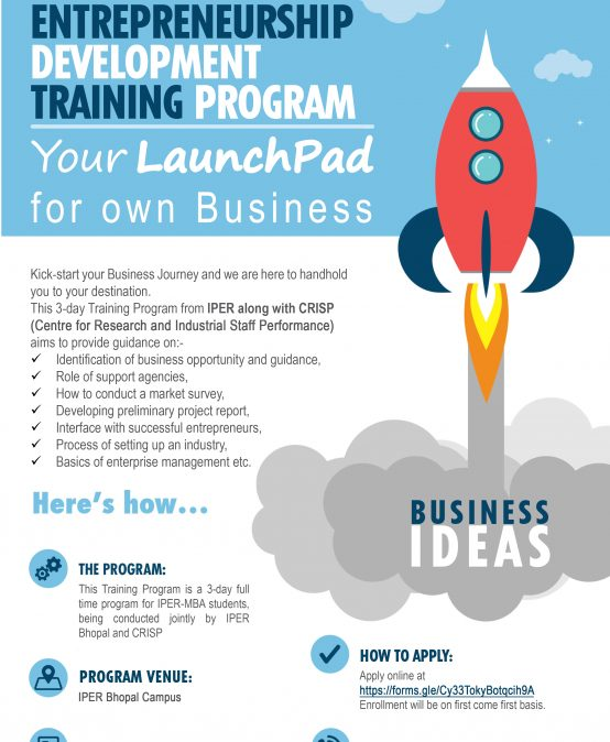 Entrepreneurship Development Training Programme