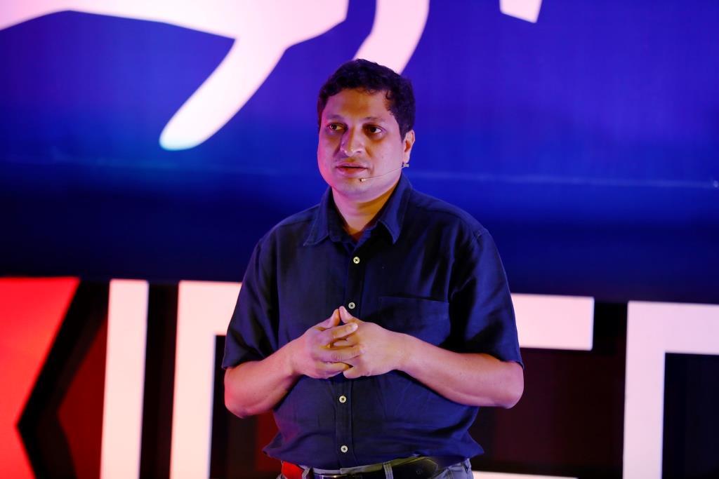 Mr. Sandeep Saxena at TEDxIPERBhopal