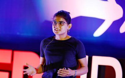 Ms. Ankita Shrivastava at TEDxIPERBhopal