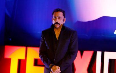 Mr. Mukesh Tiwari at TEDxIPERBhopal