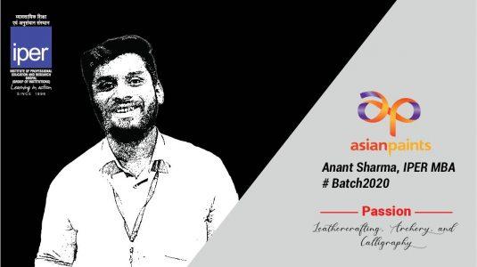 Asian Paints - Anant Sharma - IPER - MBA