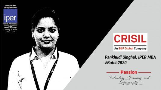 Crisil - Pankhudi Singhai - IPER MBA