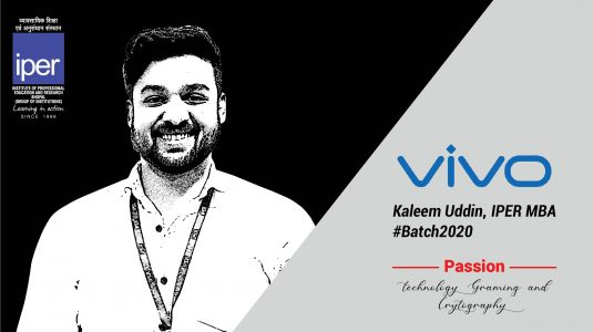 Kaleem Uddin Placed in Vivo at IPER Placements 2020