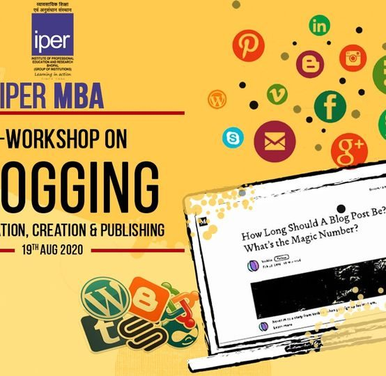 Workshop on Blogging – IPER MBA