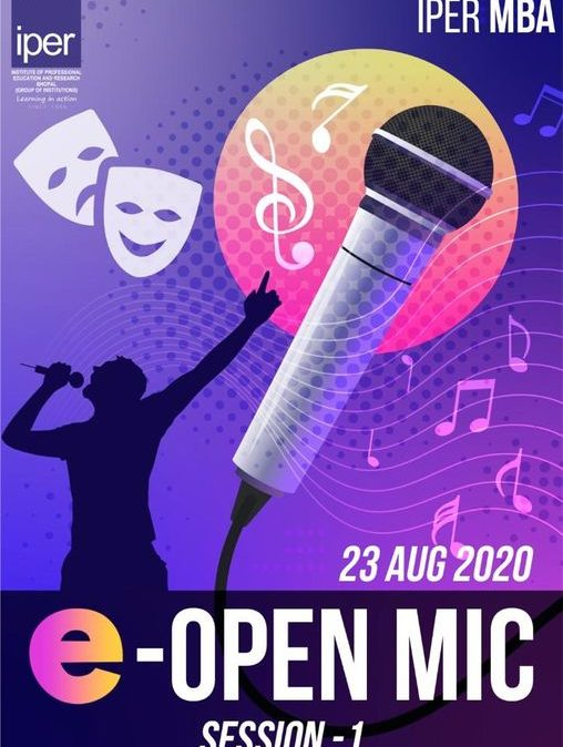 eOpen Mic Contest at IPER MBA
