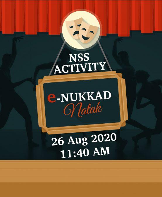 e-Nukkad Natak at IPER UG