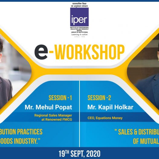 eWorkshop on Sales Practices – IPER MBA