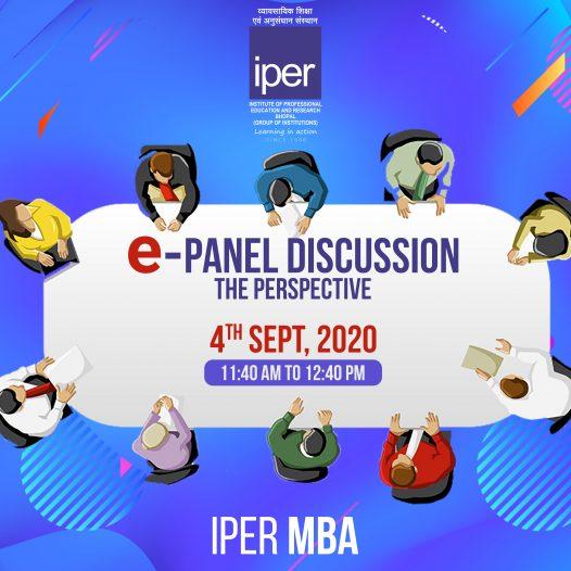 ePanel Discussion on NEP 2020 – IPER MBA