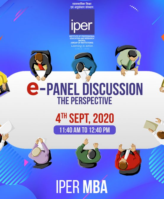 ePanel Discussion on NEP 2020 – IPER MBA