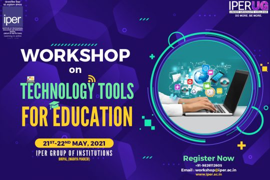 IPER Workshop on Technology Tools for Education – 2021