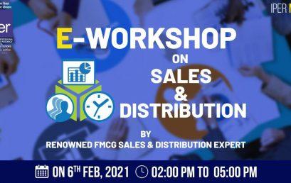 eWorkshop on FMCG Sales & Services IPER MBA