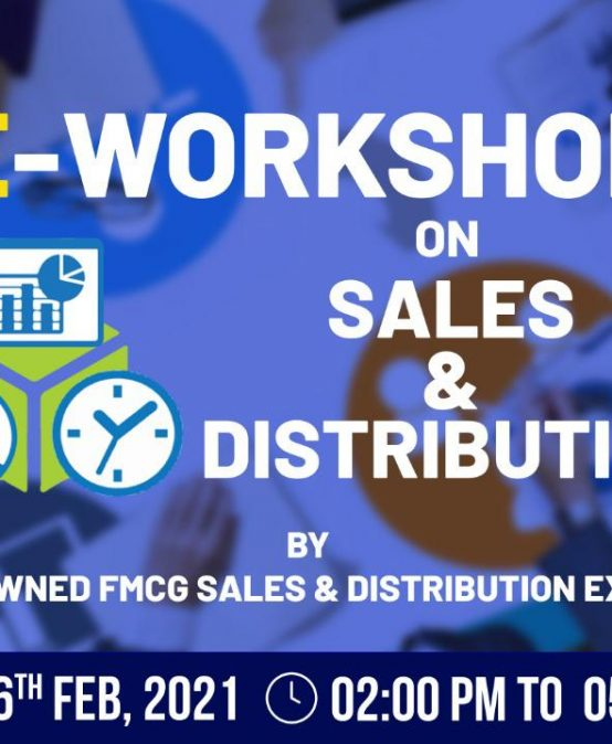 eWorkshop on Sales & Services by Mohit Bagla at IPER MBA – 6th Feb, 2021
