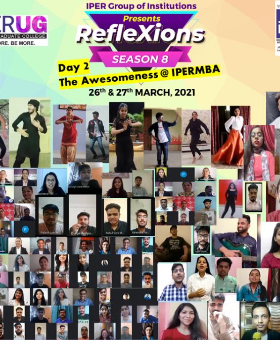 Reflexions Annual Fest 2021 – Season 8 concludes – 27th March, 2021