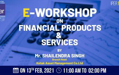 Kotak's eWorkshop on Financial Products & Services