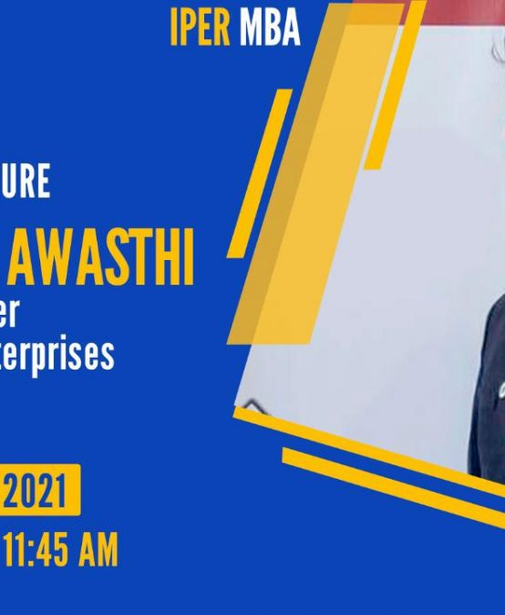 eLecture on Business Plan at IPER MBA – 19th Jan, 2021