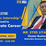 Methodex Cluster Head's Guest Lecture at IPER MBA