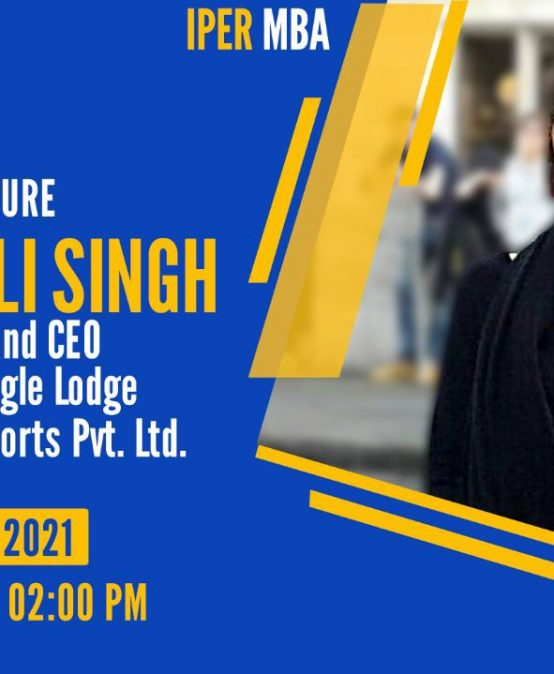 eLecture by Anjali Singh, Wildberries Resorts – 21st Jan, 2021