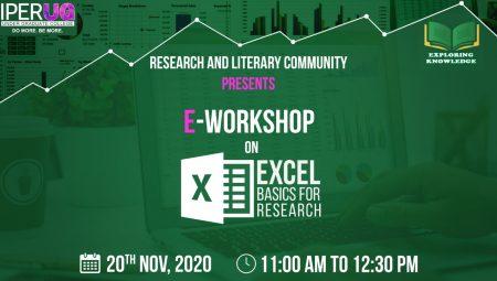 IPER UG e Workshop on Excel Basics for Research