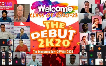 "Induction – ""Orientation , e- Samvaad, e-Jingle Mingle""- Class of 2020-2023"