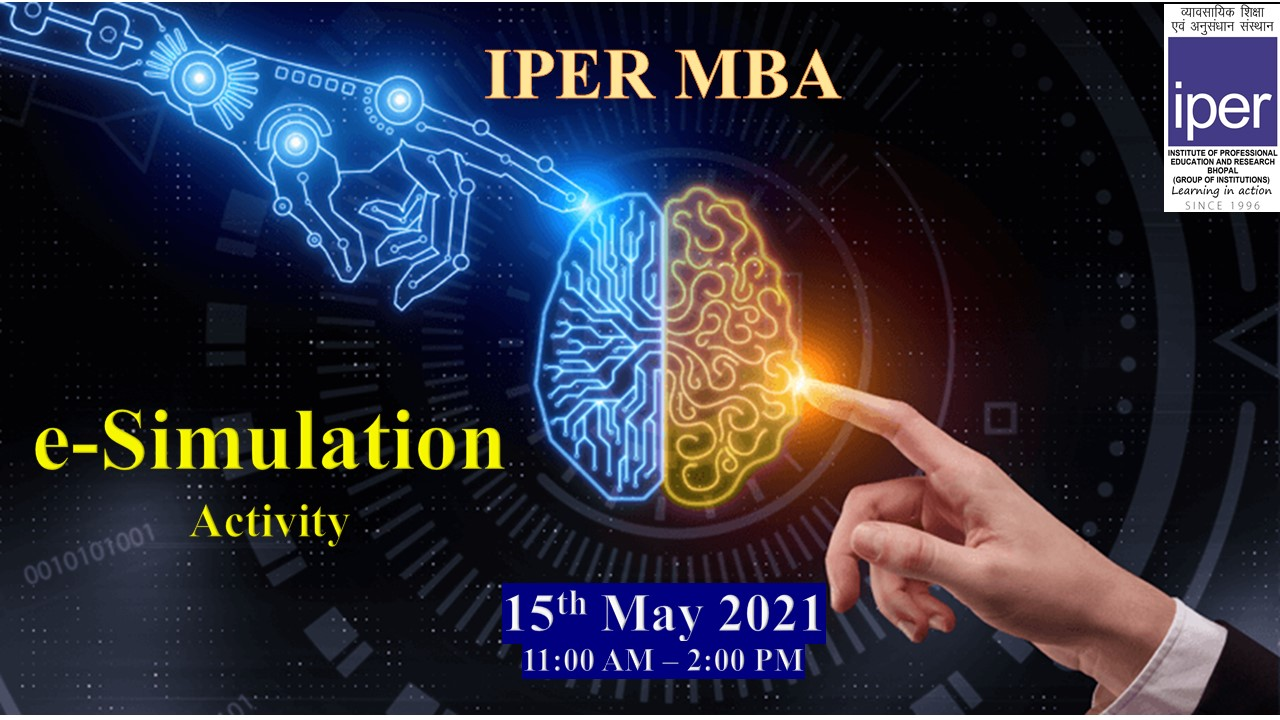 e-Simulation Activity held in IPER MBA